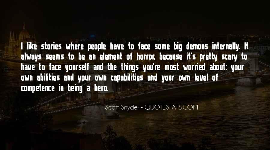 Quotes About Being Yourself #9305