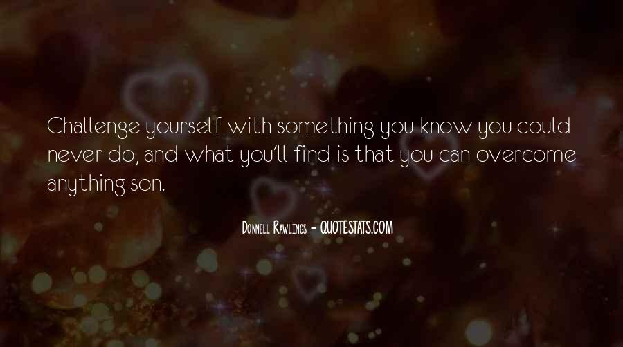 Quotes About What You Can Do #19708