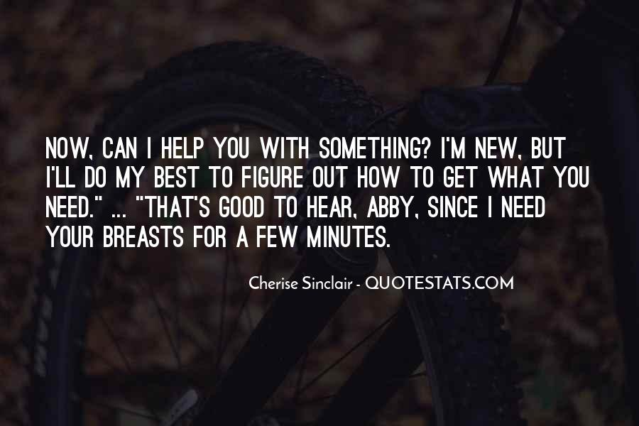 Quotes About What You Can Do #43596