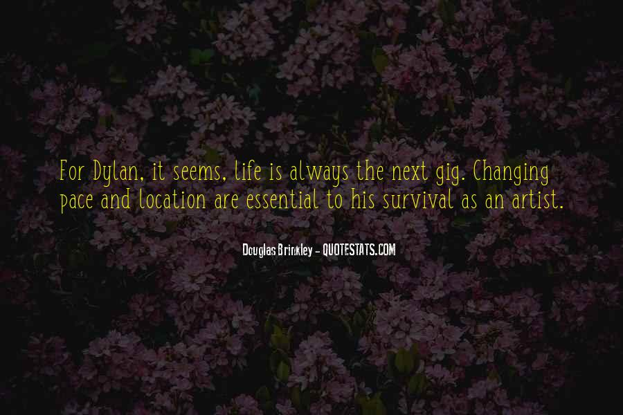 Quotes About Changing The Life #152194