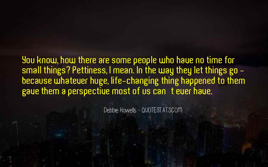 Quotes About Changing The Life #211246