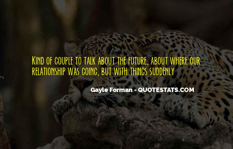 Quotes About A Couple's Future #229877