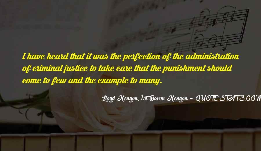 Quotes About Criminal Punishment #1226170