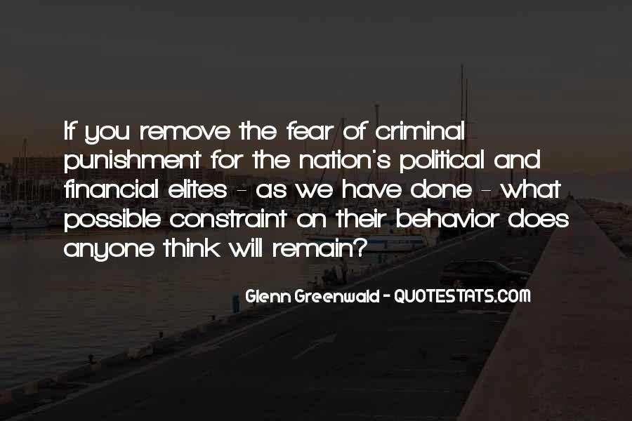 Quotes About Criminal Punishment #1232027
