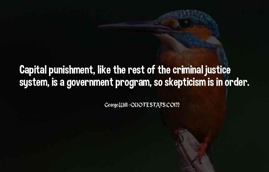 Quotes About Criminal Punishment #1390213