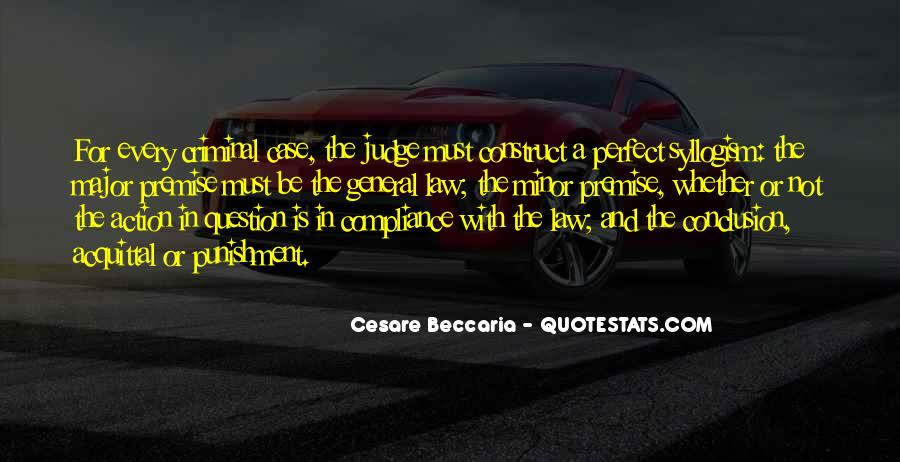Quotes About Criminal Punishment #1524368