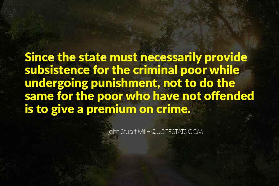 Quotes About Criminal Punishment #1712064