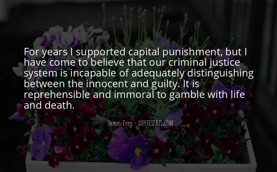 Quotes About Criminal Punishment #448561