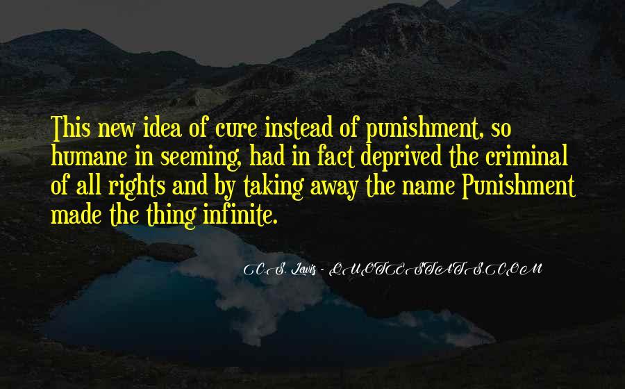 Quotes About Criminal Punishment #500864