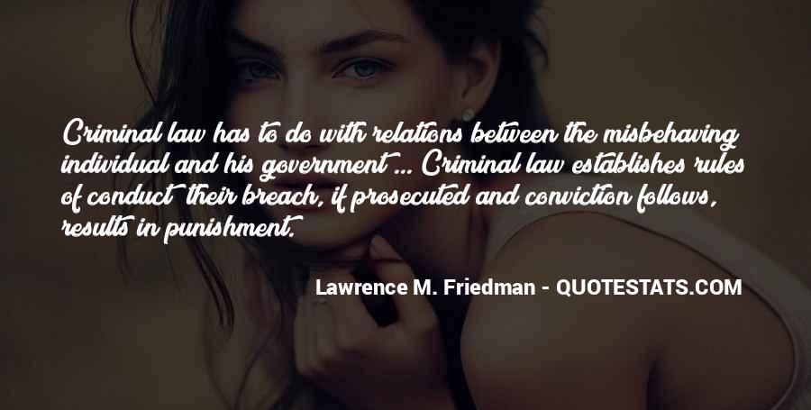 Quotes About Criminal Punishment #618457