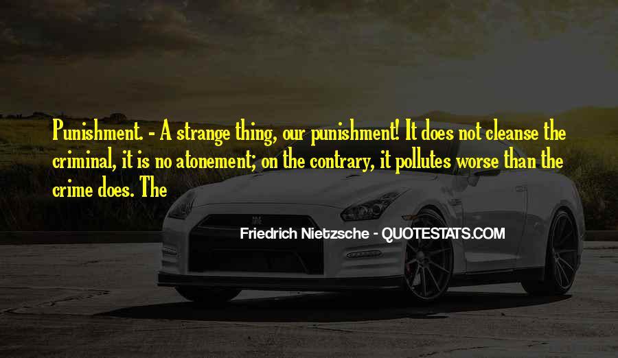 Quotes About Criminal Punishment #733506