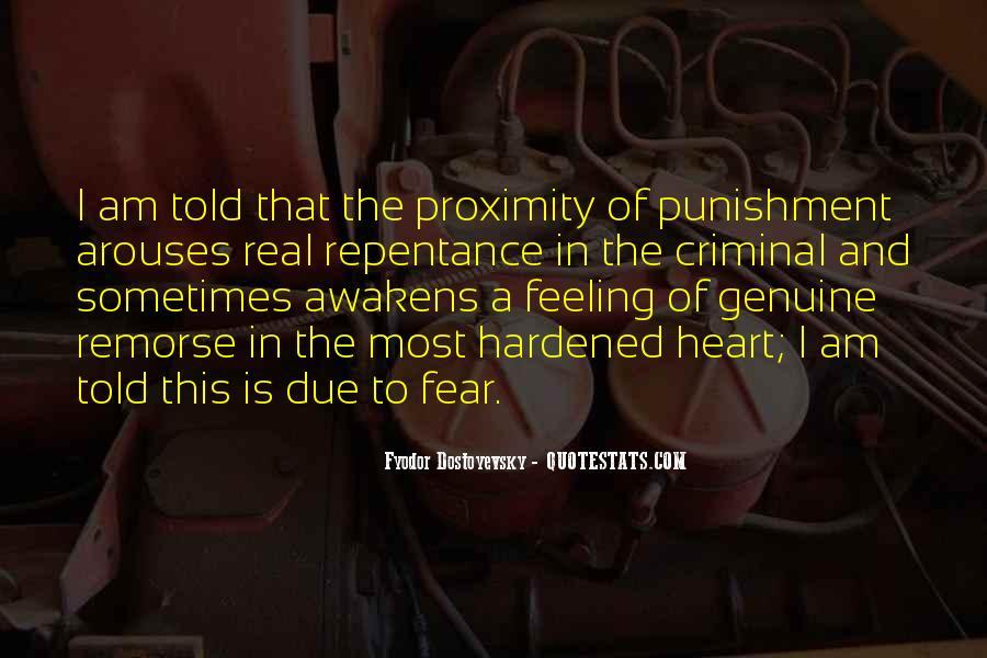 Quotes About Criminal Punishment #743686