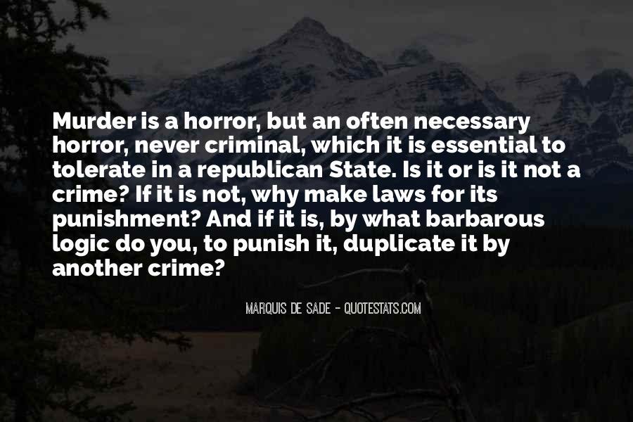 Quotes About Criminal Punishment #885213