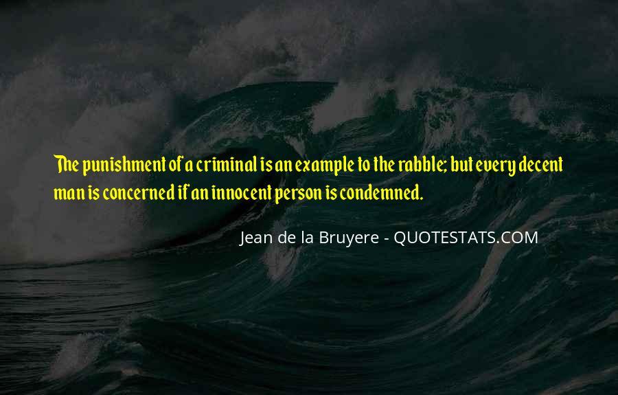 Quotes About Criminal Punishment #901088
