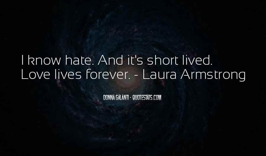 Quotes About Short Lived Love #1484992