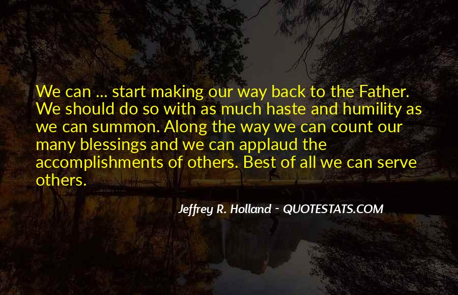 Quotes About Blessings To Others #1428739