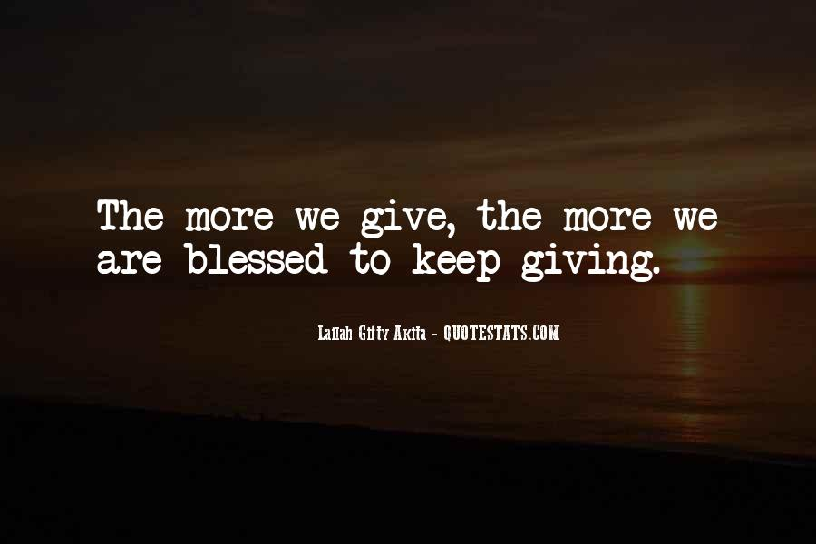 Quotes About Blessings To Others #1590908