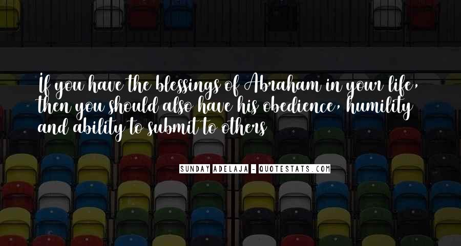Quotes About Blessings To Others #1683990
