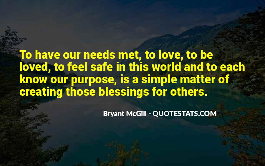 Quotes About Blessings To Others #1788577