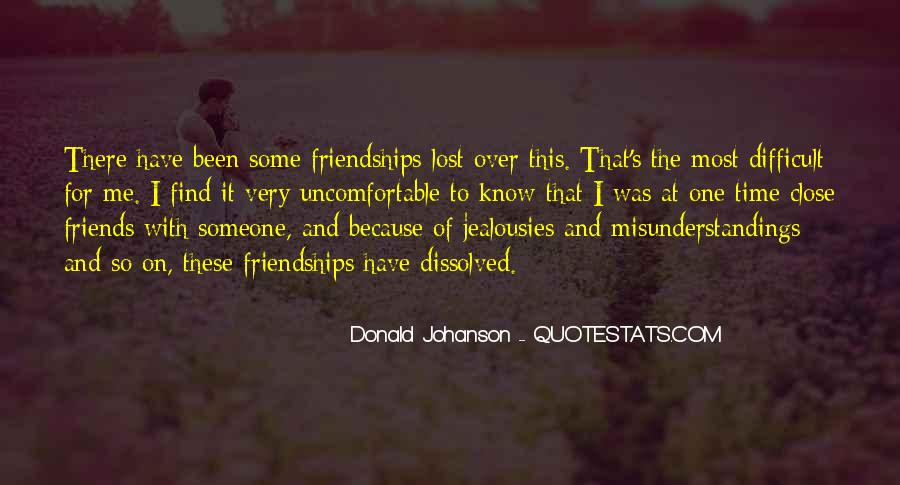 Quotes About Lost Best Friendships #354259
