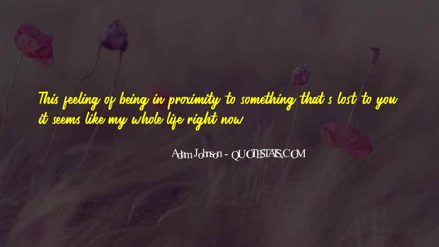 Quotes About Being Lost In Yourself #140871