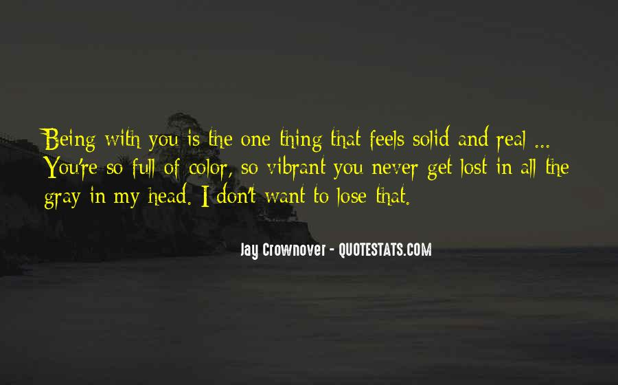 Quotes About Being Lost In Yourself #151539