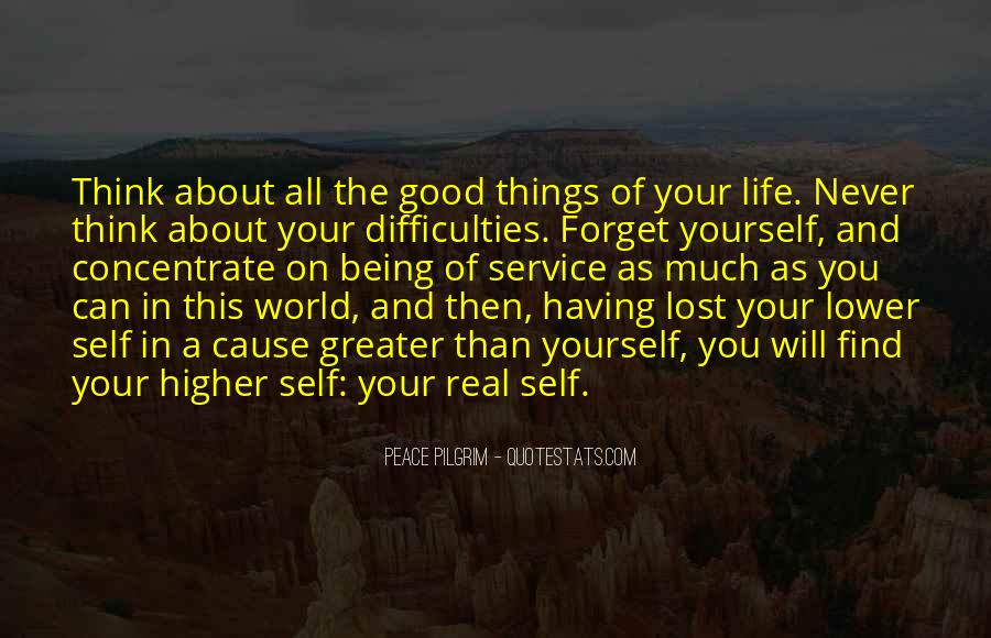 Quotes About Being Lost In Yourself #970071