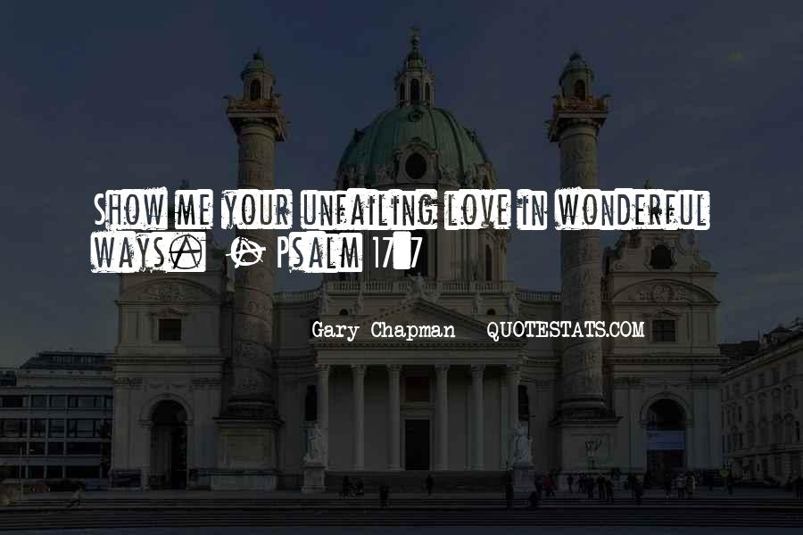 Quotes About Psalm 139 #54139