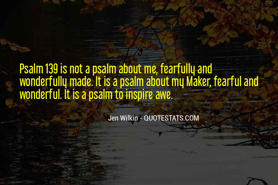 Quotes About Psalm 139 #886632