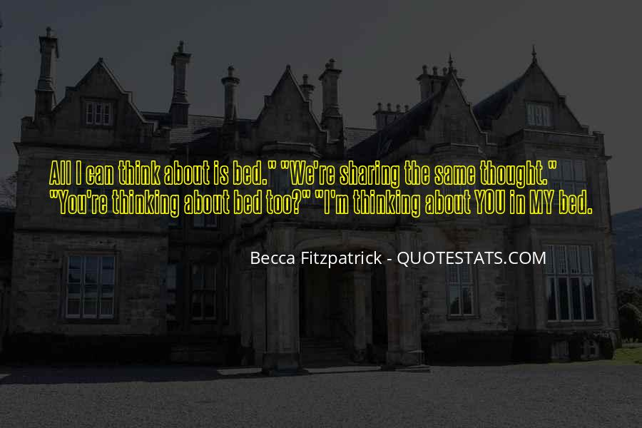 Quotes About Sharing Your Bed #311280