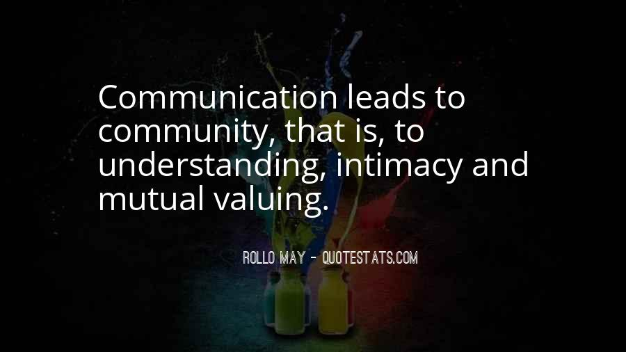 Quotes About Having Mutual Understanding #663818
