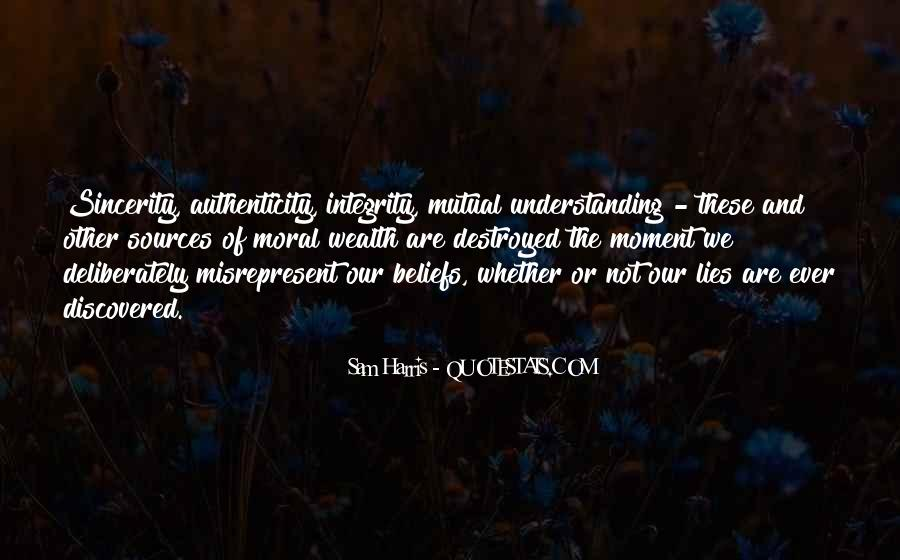 Quotes About Having Mutual Understanding #97678