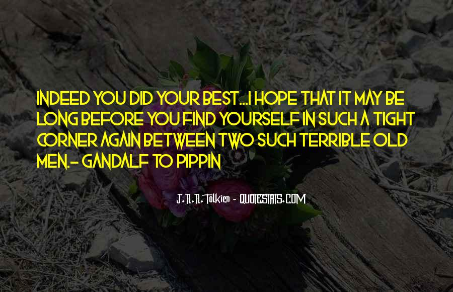 Quotes About You Did Your Best #577643