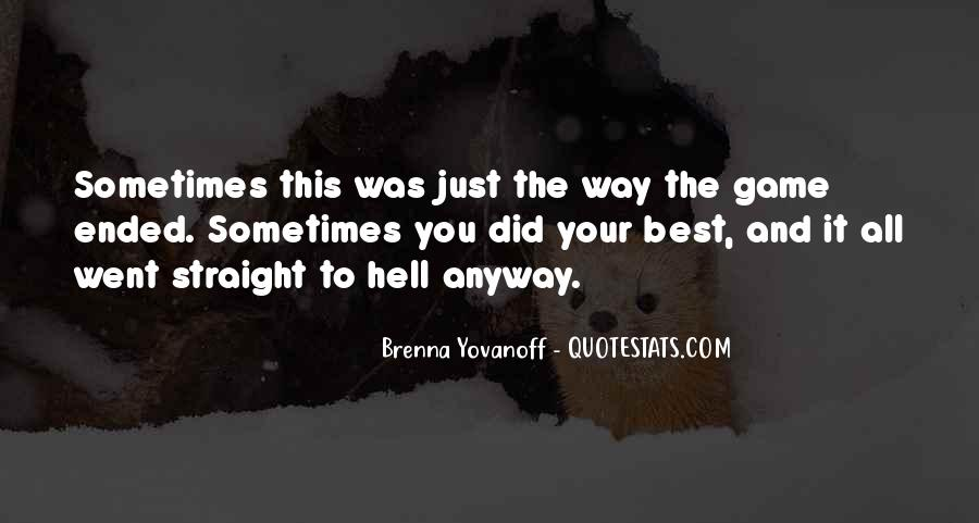 Quotes About You Did Your Best #803154