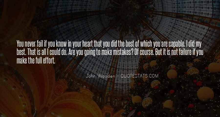 Quotes About You Did Your Best #826318