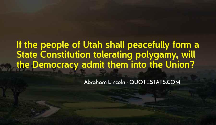 Quotes About The State Of Utah #1162900