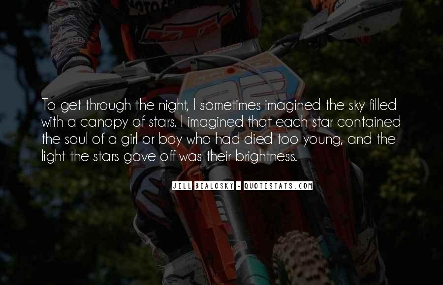 Quotes About Stars And Death #1141591