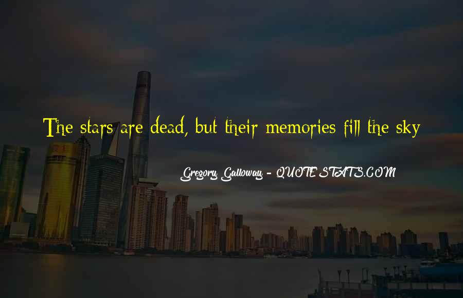 Quotes About Stars And Death #1843724