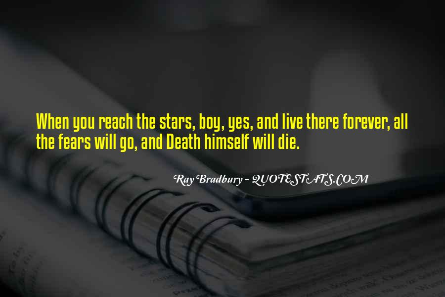 Quotes About Stars And Death #335106