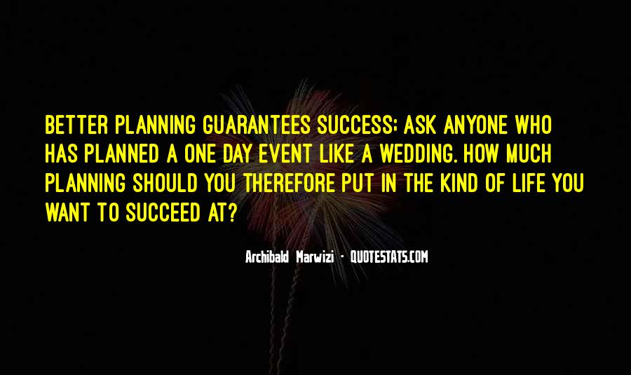 Quotes About Success Event #1173469