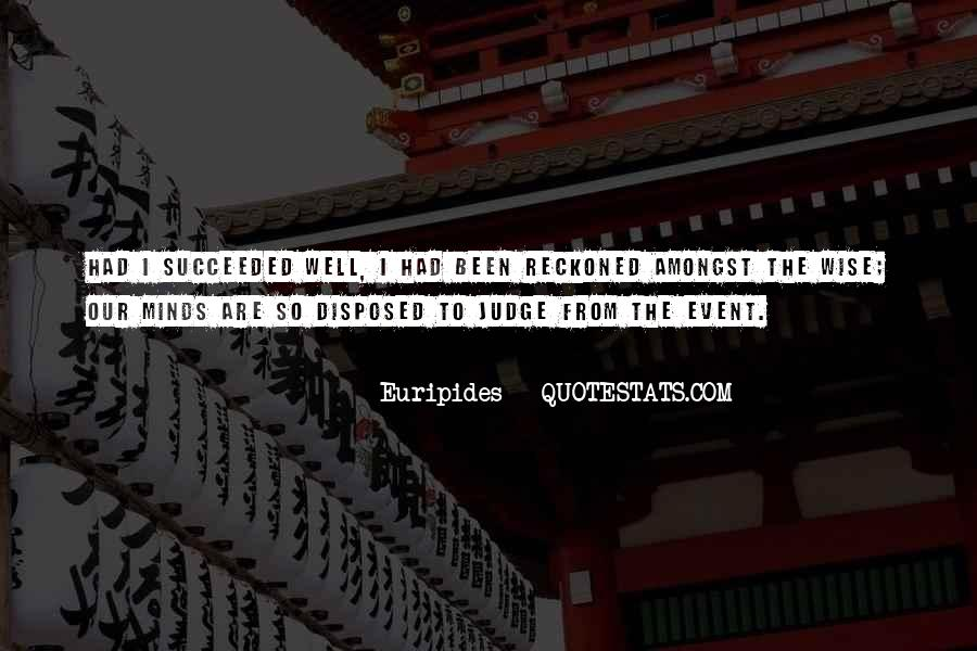 Quotes About Success Event #444934
