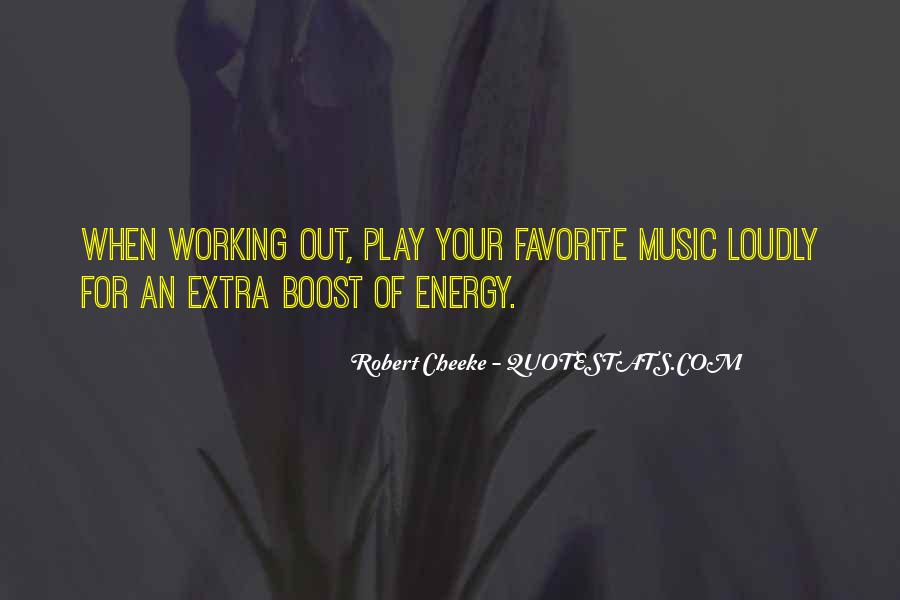 Quotes About Energy #2557