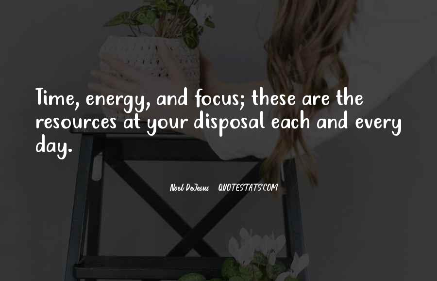 Quotes About Energy #7044