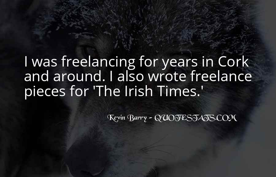 Quotes About Freelancing #87710