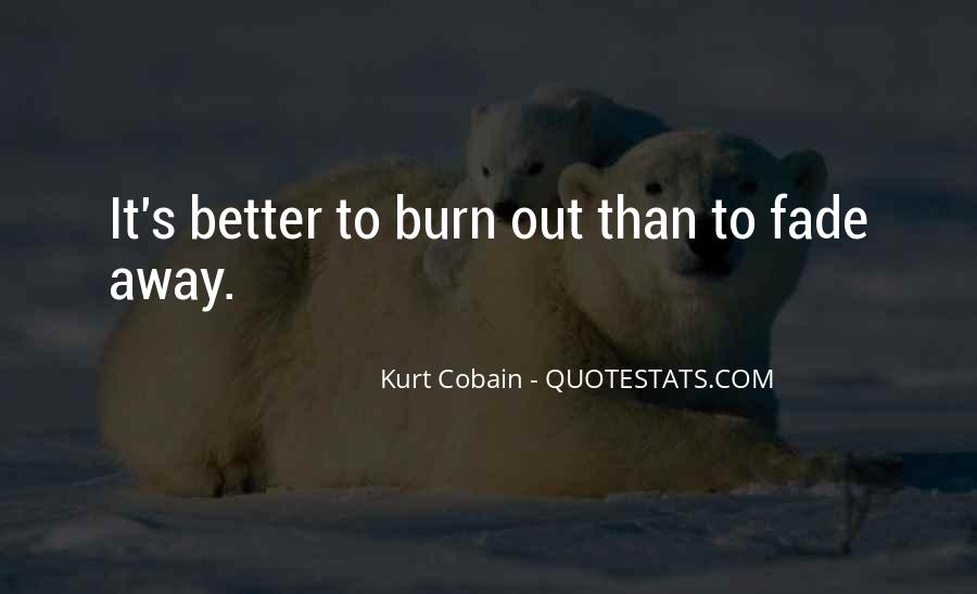 Quotes About Kurt Cobain's Death #1421703