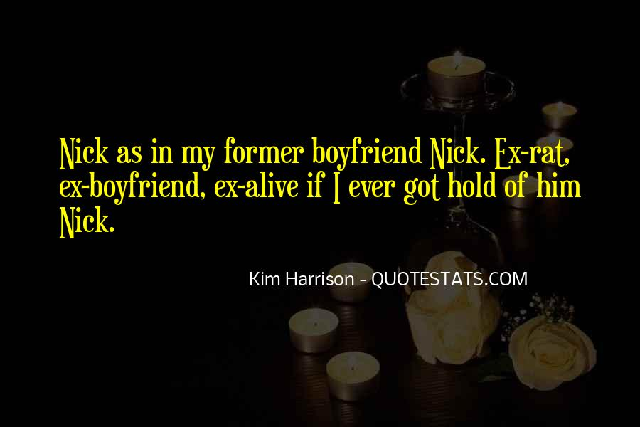 Quotes About Former Boyfriend #248804