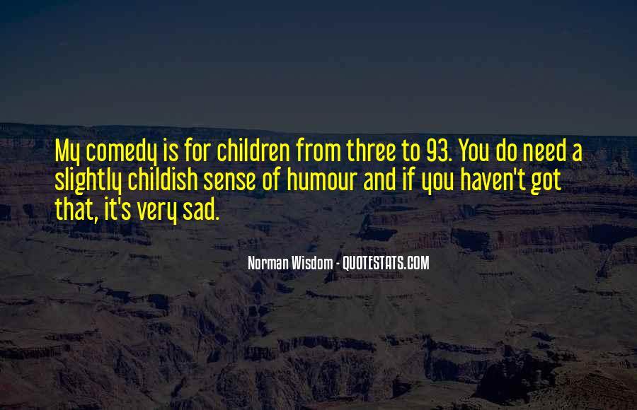 Quotes About Sense Of Humour #110466