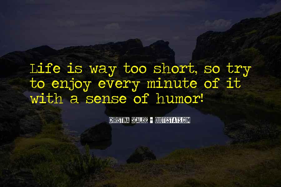 Quotes About Sense Of Humour #183412