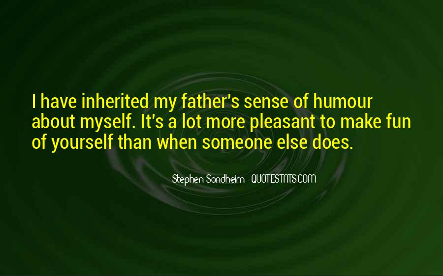 Quotes About Sense Of Humour #33846