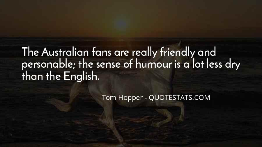 Quotes About Sense Of Humour #35861